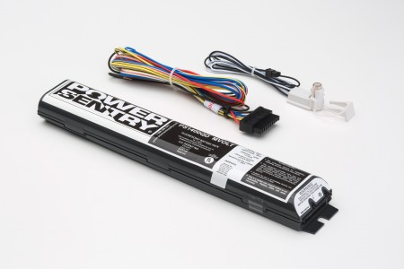 Lithonia Electronic Fluorescent Emergency Ballast for (1-2) 4' or Less Lamps or (1) 8' Lamp - 120V or 277V (PS1400QD)
