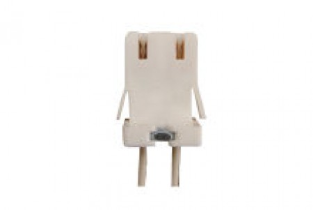 Fluorescent Sockets Snap-in or Push-in for Medium-Bipin T8 T10 T12 Lamps (FE/LR89)