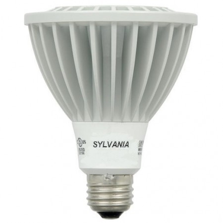 Sylvania 13 Watt PAR30 Long Neck LED 2700K 120V 790 Lumen 81 CRI Medium (E26) Base Dimmable Narrow Flood Bulb (LED13PAR30LNDIM827NFL25)