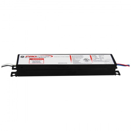 GE Instant Start Electronic Fluorescent Ballast for (1-2) F96T12 F48T12 Lamps Run at 120V/277V (GE-260-IS-MV-N)