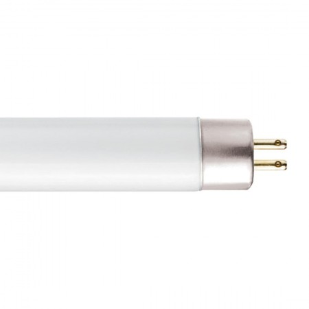 "GE 54 Watt 46"" T5 Linear Fluorescent 3500K 85 CRI Miniature Bipin (G5) Base High Output Tube (F54W/T5/835/ECO)"