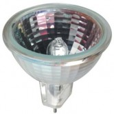 GE 20 Watt MR16 Halogen 2900K 12V Bipin (GU5.3) Base Wide Flood Bulb - BAB (Q20MR16C/CG40/BAB)