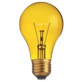 25ATY/I 25W A19 Transparent Yellow Bulb