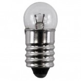 .3 Amp G3.5 Incandescent 2.47V Mini Screw Terminal Base Clear Miniature Bulb (#14)
