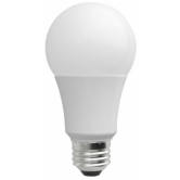 TCP 10 Watt A19 LED 5000K 120V 850 Lumen 80 CRI Dimmable Omni-Directional Bulb (LED10A19DOD50KW)