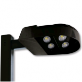 Cree 228 Watt LED Type III Distribution Area Light - 4000K 120V-277V 70 CRI 22,800 Lumen Dark Bronze Fixture (C-AR-A-4LD-23L-40K-DB)