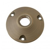 Lite the Nite Round Aluminum Mounting Base - Textured Bronze Finish (AX1RNDBSE)