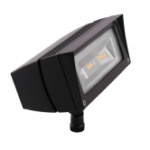 RAB 18 Watt LED Floodlight - 4000K 120V-277V 82 CRI 2119 Lumen Bronze Fixture - Mounting Arm - DLC Standard (FFLED18N)