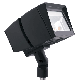 RAB 39 Watt LED Floodlight - 5000K 120V-277V 71 CRI 5666 Lumen Bronze Fixture - DLC Standard (FFLED39)