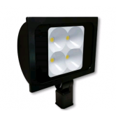 "Cree 234 Watt LED Narrow Floodlight - 4000K 120V-277V 70 CRI 22,900 Lumen Dark Bronze Fixture - Includes 2"" Adjustable Fitter (C-FL-A-RTS4-23L-40K-DB)"