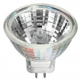Hikari 15 Watt MR11 Halogen 12V Bipin (G4) Base Covered Glass Bulb (12V 15W MR11G4 W/CVR 30 DEGREE)