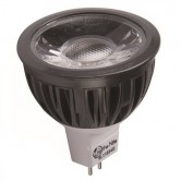 Lite the Nite 5 Watt MR16 LED 3000K 12V AC/DC 430 Lumen 80 CRI Bipin (GU5.3) Base Dimmable Bulb (L11536D)