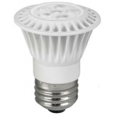TCP LED 7 Watt P16 Dimmable 24K Flood (LED7P1624K Flood)