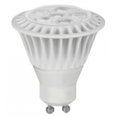 TCP 7 Watt MR16 LED 3000K 120V 525 Lumen 82 CRI Twist and Lock (GU10) Base Dimmable Flood Bulb (LED7MR16GU1030KFL)