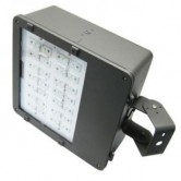 Lumecon 68 Watt LED Large Area Flood Light - 120V 73 CRI 4163 Lumen Fixture - DLC Listed (LF-LG-DB-1-NW-SB)