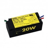 Electronic Ballast for 1 Metal Halide 20 Watt M175 Lamp Operated at 120V (M2012CK-7EUN-F)