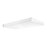 RAB 44 Watt LED Dimmable Diffused Acrylic Lens Panel - 4000K 120V-277V 83 CRI 6120 Lumen White Fixture - DLC Premium (PANEL2X4-44N/D10)