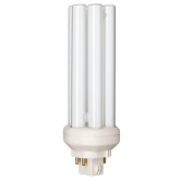 Philips 26 Watt PL Triple Tube CFL 3000K 82 CRI 4 Pin (GX24q-3) Plug-In Base Bulb (PL-T26W/830/A/4P/ALTO)