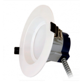 "Sylvania 17 Watt LED 4000K 120V-277V 1500 Lumen 80 CRI 0-10V Dimmable 5""-6""  Reccessed Downlight Retrofit Kit (LEDRT5/6/1500/HO/840)"
