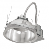 "Hubbell LED 3000K 120V 1900 Lumen 80 CRI 8"" White Downlight Retrofit Reflector and Flange (RLC8LED120-8LCLED730K8WHWT)"