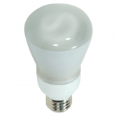 Satco 11 watt; R20 Compact Fluorescent; 2700K; 82 CRI; Medium base; 120 volts (11R20/27)