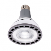 Hi-Pro 12 watt PAR30 Long Neck LED; 4000K; 25' beam spread; Medium base; 100-277 volts (12W/LED/PAR30/LN/4K/100-277V)