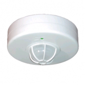 RAB Super Ceiling Occupancy Sensor - 120V 2000 Watt Max. Incandescent, 2000 Watt Max. Fluorescent White Ceiling Mount Fixture (Not Rated for Instant Start Ballast) (LOS2500/120V)