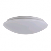 "Sylvania 25 Watt 14"" LED Phase-cut Dimmable Surface Mount Fixture - 2700K 120V 80 CRI 1500 Lumen (SURFACER1A/025120T827/14S/WH)"