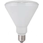 17 Watt 3000K Medium (E26) Base Dimmable LED PAR38 40 Degree LED Bulb, Black Body (LED17P38D30KFLB)