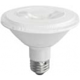 TCP 10 Watt 3000K Medium (E26) Base Dimmable LED PAR30 Short Neck 25 Degree LED Bulb (LED10P30SD30KNFL)