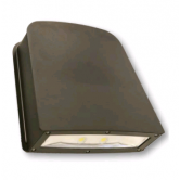 Cree 80W LED Large Wallpack-Flood with Tempered Glass Lens - 5000K 120V-277V 70 CRI 8100 Lumen Dark Bronze Fixture - Includes Mounting Plate (C-WP-A-SL-8L-50K-DB)
