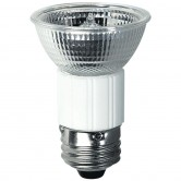 100 Watt MR16 Halogen 120V Medium (E26) Base Open Flood Bulb (JDR/E26/120V/100W)
