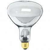 Eye 160 Watt R40 Mercury Vapor 4500K Medium (E26) Base Deluxe White Self Ballasted Flood Bulb - B87 (160W/SB/R40/120)